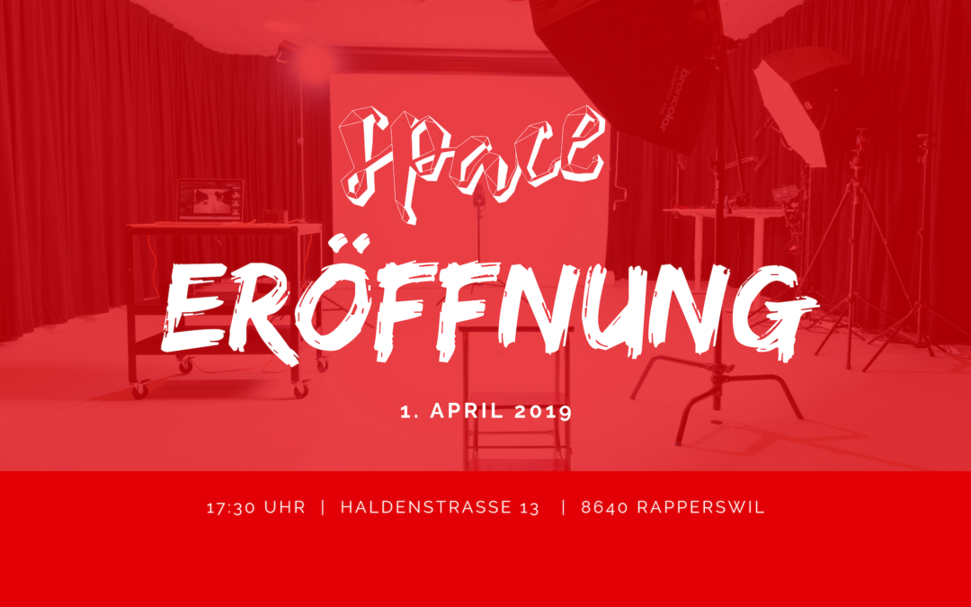 Eröffnung vom Content Creation Space in Rapperswil