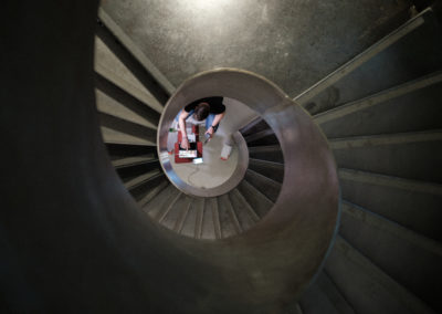 Spannende Perspektiven  (Foto by Yannick Pulver)